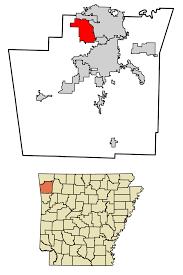 Fayetteville Ar Map Tontitown Arkansas Wikipedia