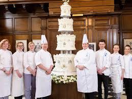 Le Cordon Bleu London Recreated Queen Elizabeth U0027s Wedding Cake