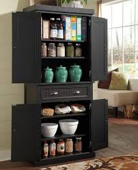 Kitchen Cabinets Pantry Ideas by Black Kitchen Pantry Storage