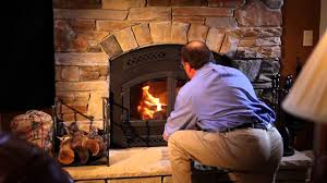 heat u0026 glo northstar wood fireplace video youtube