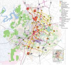 Map Of Austin Imagine Austin Impervious Cover Build Out Analysis