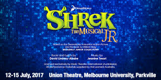 shrek musical jr stage australia