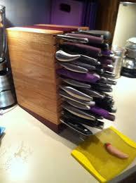 custom knife blocks magnetic knife racks custommade com knife block