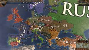 Map Of Europe Game by Europa Universalis 4 Modern Europe Custom Nations Timelapse