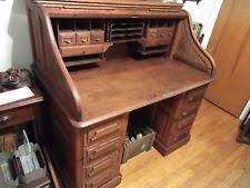 oak roll top desk ebay
