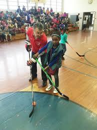 washington capitals and alumnus errol rausse host hockey