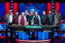 wsop final table the nine meet the players at the 2017 wsop main event final table
