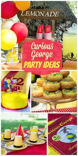 Halloween Birthday Party Themes by Best 25 Curious George Party Ideas On Pinterest Curious George