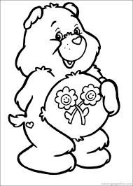 bear coloring pages friend coloring pages friend care
