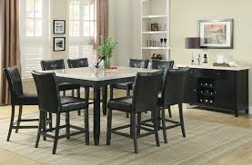 Cappuccino Dining Room Furniture Coaster Furniture Anisa Collection Cappuccino 7 Piece Dining Set