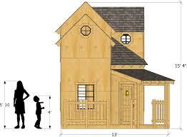 gifford manor playhouse plan 450ft wood plan for kids u2013 paul u0027s