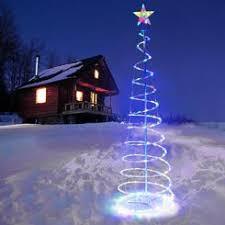 spiral christmas tree spiral christmas tree outdoor christmas decorations