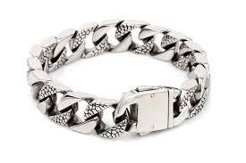 silver bracelet hand images Mens hand bracelet images jpg