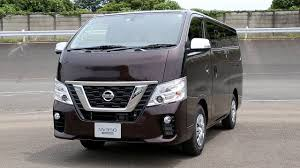 nissan minivan 2018 the new 2018 nissan nv350 urvan refreshed new look youtube