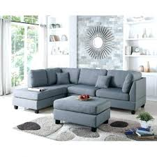 chaise furniture chaise sectional sofa with sofas cindy crawford