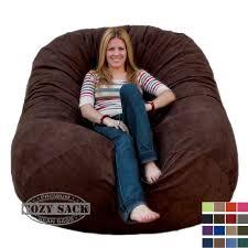 Big Joe Lumin Chair Multiple Colors Giant Bean Bags Giant Bean Bag Chair 6 Cozy Foam Filled By Cozy