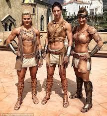 meet wonder woman u0027s pro athlete amazon warriors daily mail online