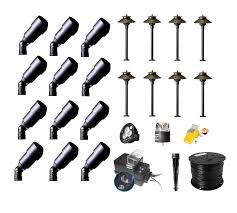 Landscaping Lighting Kits by Best Buy Complete Premium Landscape Lighting Diy Kits