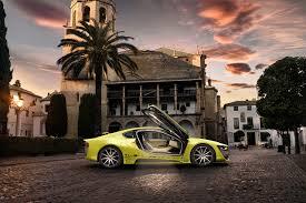 Bmw I8 Yellow - image bmw 2015 rinspeed etos concept bmw i8 yellow automobile