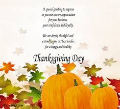 thanksgiving messages for business thanksgiving messages
