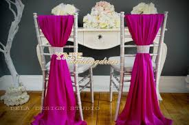 Cheap Chair Sashes 2017 Beautiful Chiffon Ruffles Chair Sash 2014 Wedding Decorations