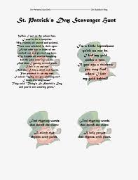 thanksgiving trivia game st patrick u0027s day scavenger hunt printable st patrick day