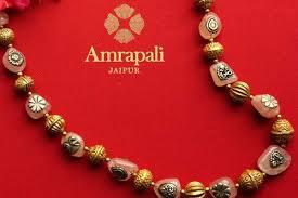 gold rose quartz necklace images Buy silver gold plated rose quartz necklace online in usa at pure JPG