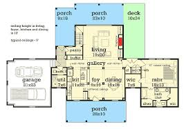 1st Floor Master House Plans Plan 55183br Mid Size Affordable House Plan With Porches Front