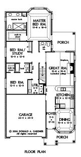 Long Narrow Floor Plans 25 Best Home Plans Images On Pinterest Craftsman Homes