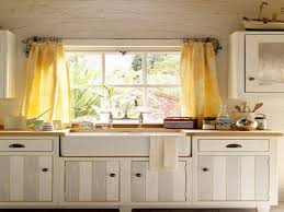 Kitchen Window Decor Ideas by Lighting Flooring Kitchen Window Curtain Ideas Concrete