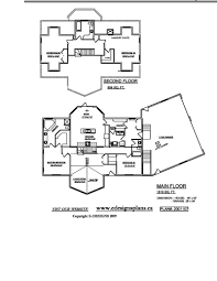 Small 2 Story Floor Plans by 2 Story House Plans With Double Garage Arts