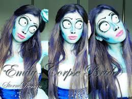 halloween zombie bride makeup emily the corpse bride tutorial tim burton youtube