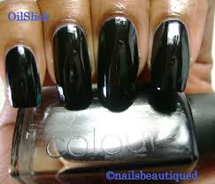 Cnd 181 Craft Nail Cnd Oil Slick And Sapphire Sparkle