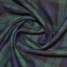 Tartan Blackwatch Tartan Fabric Buy Tartan Fabric Fabric World