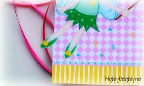 mighty delighty tinkerbell birthday party invitation