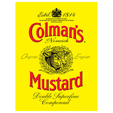 colman s mustard colman s mustard label metal sign vintage style kitchen signs