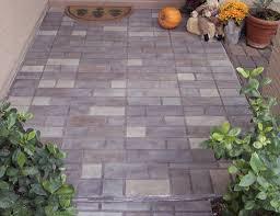 Patio Surfaces by Decorative Brick Pattern Patios Az Creative Surfaces 480 582 9191