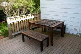 Outdoor Furniture Made From Wood Pallets Outdoor Patio Set Made With Recycled Wooden Pallets U2022 1001 Pallets