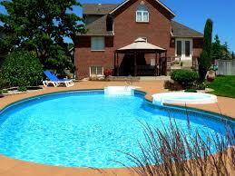 decoration attractive above ground pool backyard ideas design