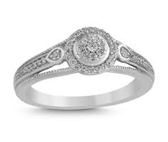 white gold promise rings 10k white gold 20ctw promise ring charm diamond centres