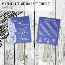 Wedding Program Hand Fans Wedding Program Hand Fans Australian Favors