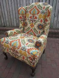 Arm Chair Upholstered Design Ideas Bunch Ideas Of Armchair Upholstery Fabric For Botanical Print