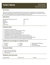 Sample Resume For Waitress by Free Resume Templates For High Students Babysitting Fast
