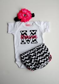 monogram baby items personalized newborn baby clothes children s online