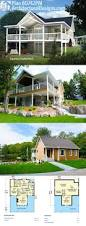 House Plans For Sloping Lots 58 Best Homes For The Sloping Lot Images On Pinterest House