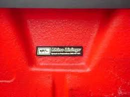 Rhino Bed Liner Cost Do Not Get A Rhino Liner Sprayed In Your Truck You Will