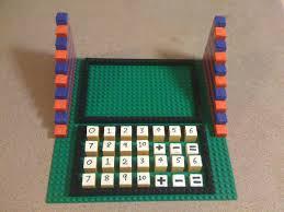 lego ideas montessori number games set
