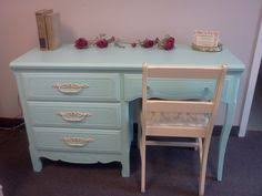 Shabby Chic Desk Chairs by Vintage Painted Desk Custom Painted Shabby Chic Furniture