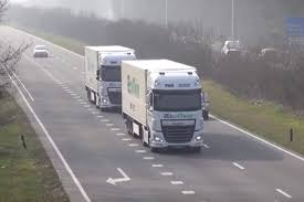 semi truck configurator semi autonomous lorry platooning comes to uk roads by car magazine