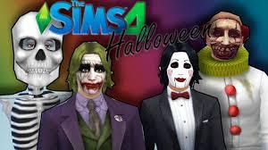 Halloween Costume The Joker The Sims 4 Costumi Halloween Scheletro Joker Saw